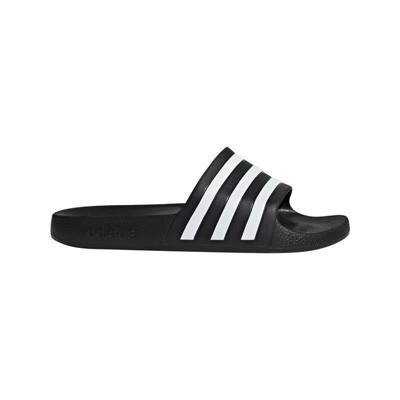 un acreedor taza Tubería  adidas Adilette Aqua Badelatschen - schwarz/weiß | DeinSportsfreund.de