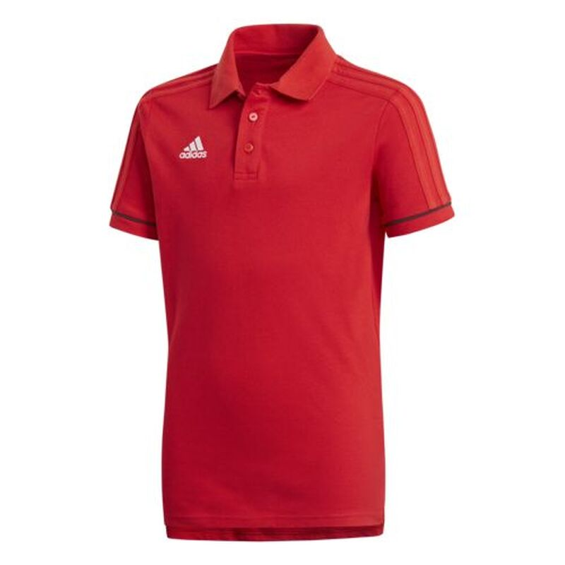 adidas Tiro17 Polo Shirt Kinder rot