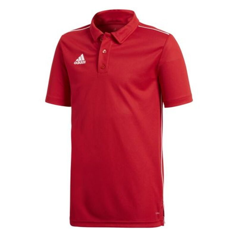 adidas core 18 polo shirt kinder rot 128. Black Bedroom Furniture Sets. Home Design Ideas