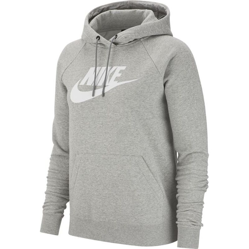 Grauer Nike Hoodie Damen